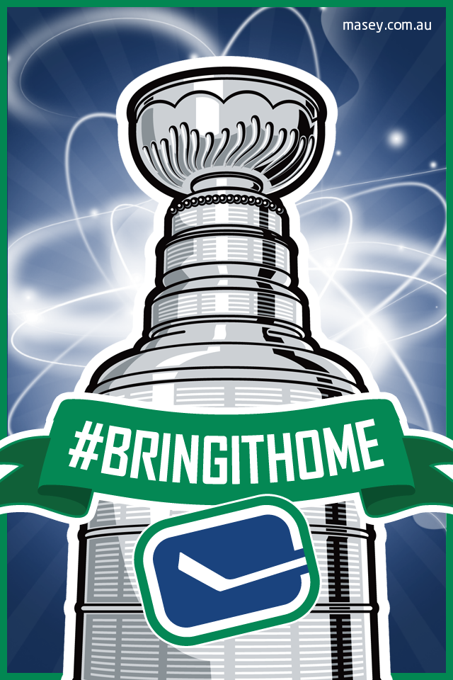Vancouver Canucks BringItHome iPhone 4 Wallpaper Flickr   Photo 640x960