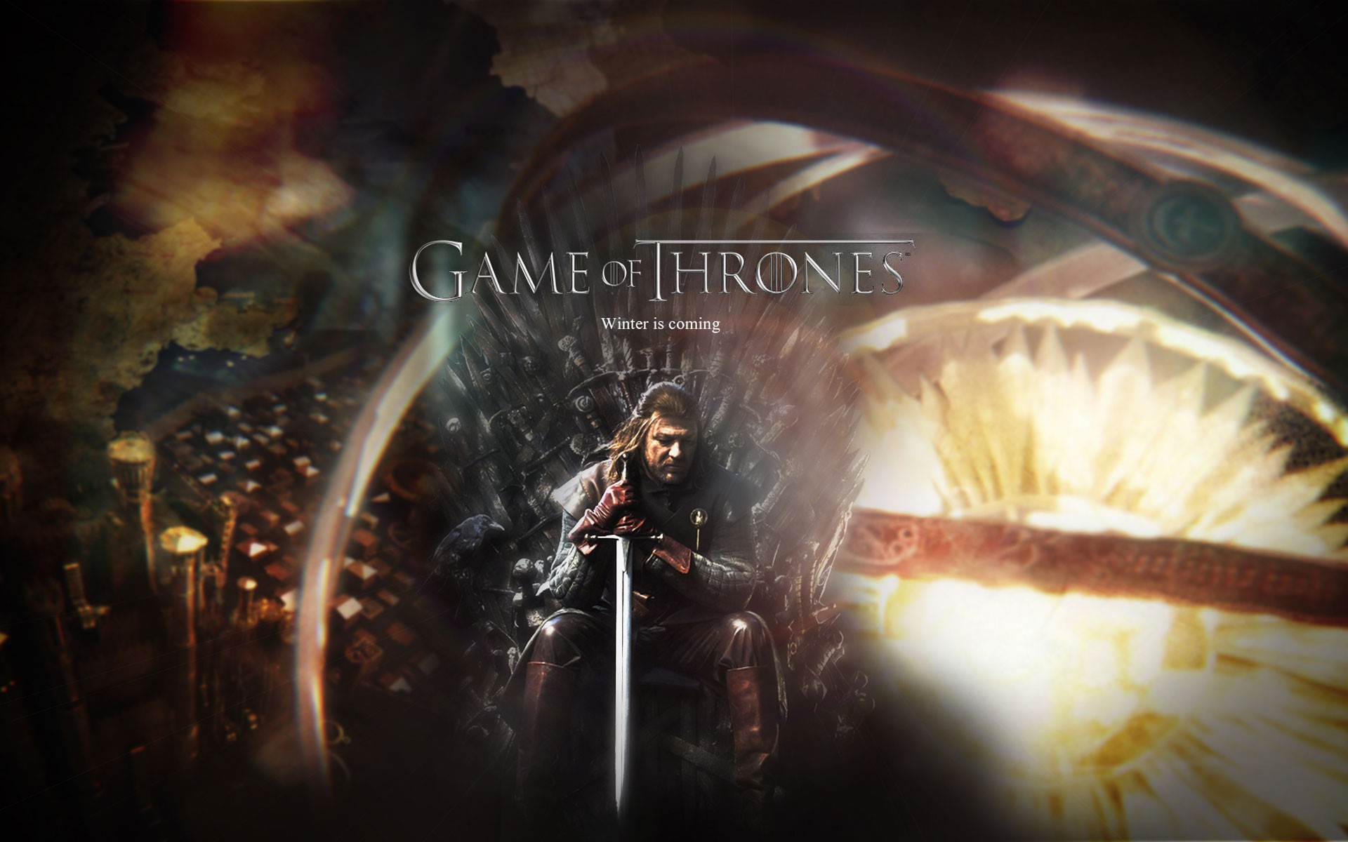 Fantasy art throne game of thrones a song of ice and fire tv series 1920x1200