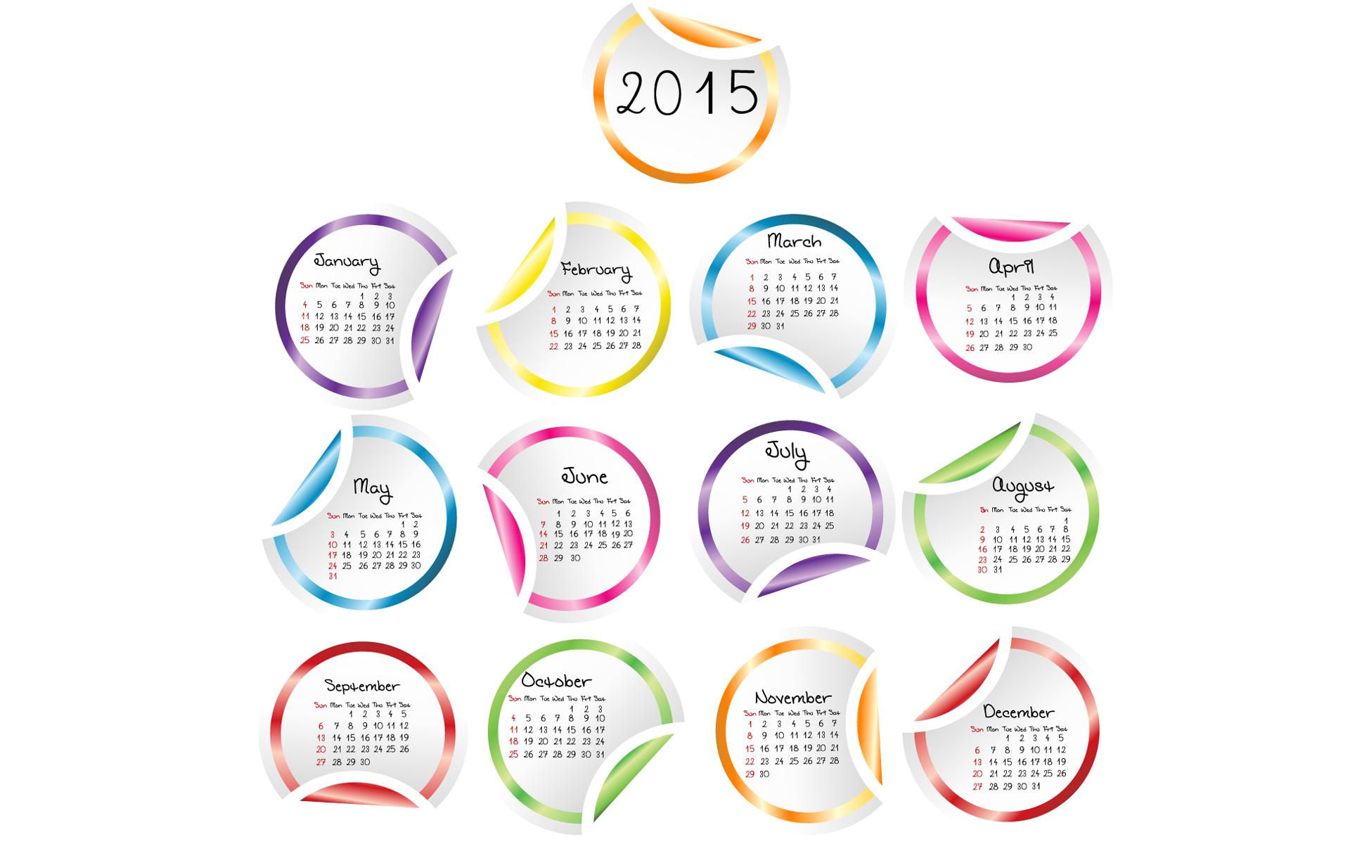 Happy new year 2015 calendar download best desktop wallpaper 1920x1200