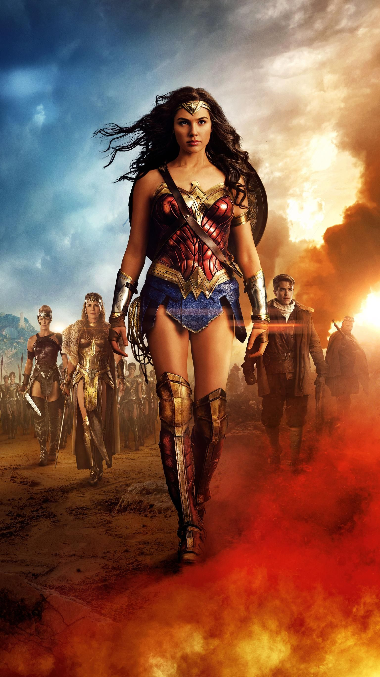Free Download Wonder Women Phone Wallpapers Top Wonder Women Phone