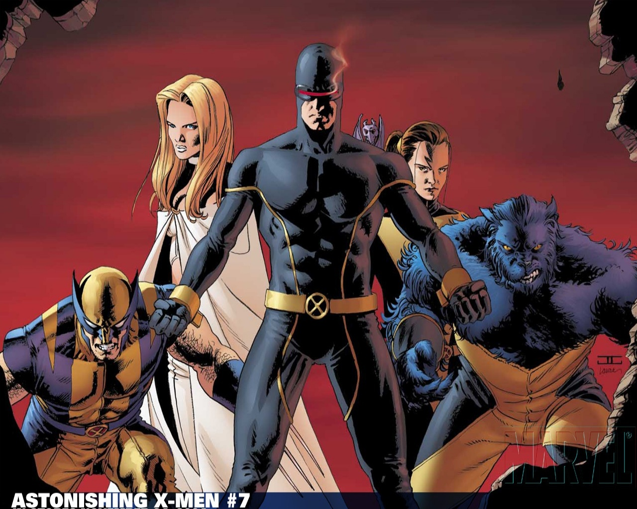 Astonishing X men   X Men Wallpaper 24196342 1280x1024