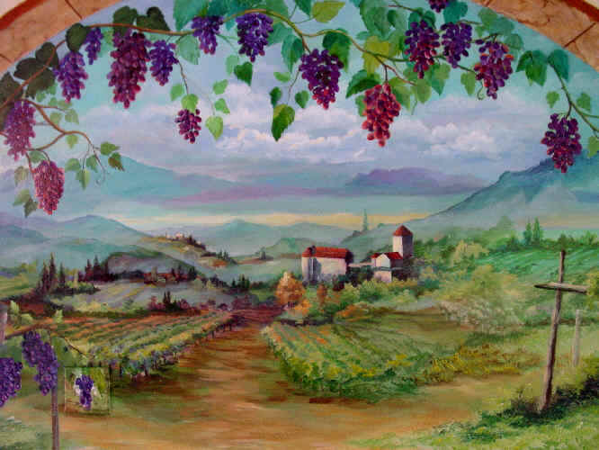 46 Tuscan Wall Mural Wallpaper On Wallpapersafari