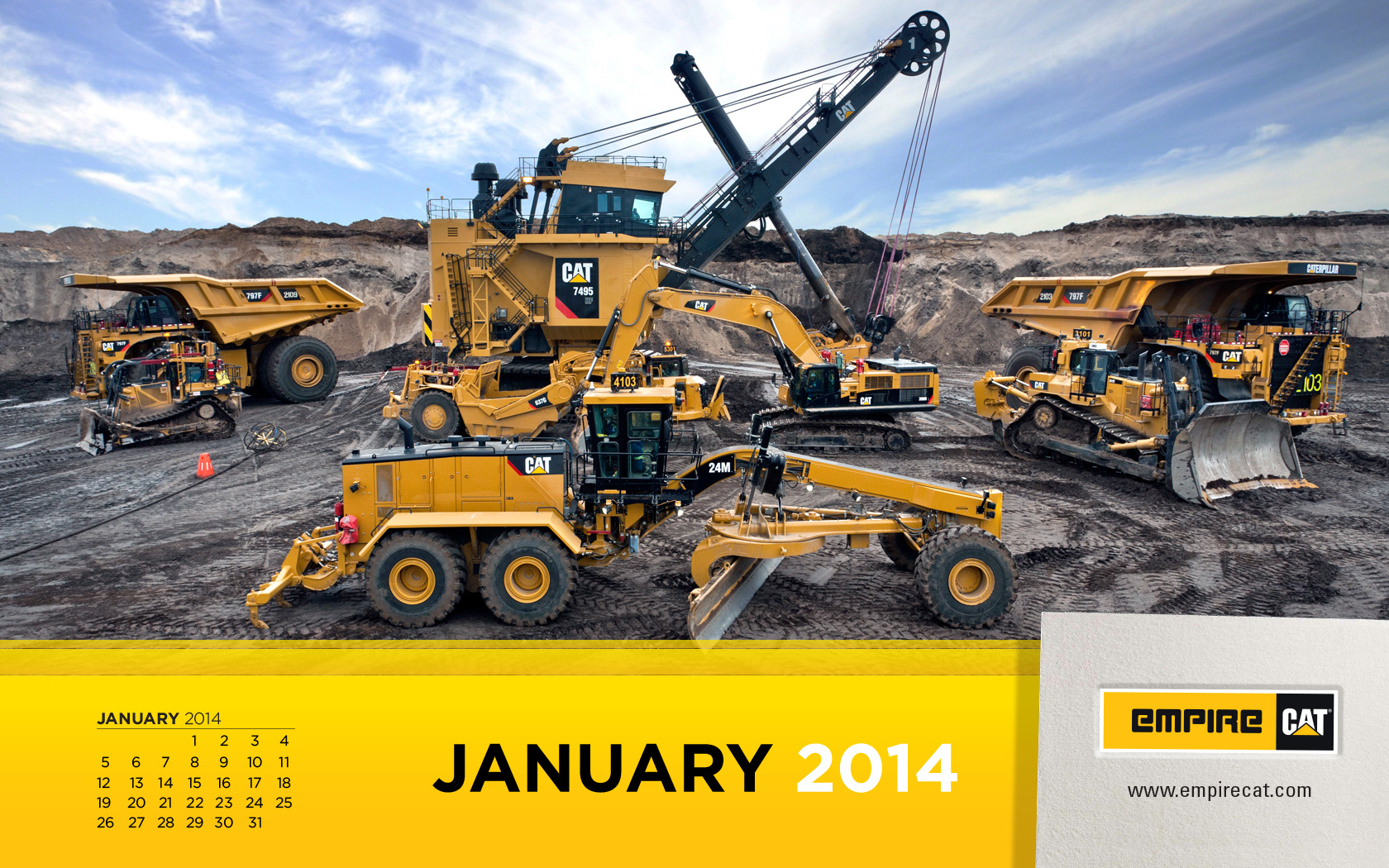 Caterpillar Equipment Wallpaper Logo Cat expanded mining product 1680x1050