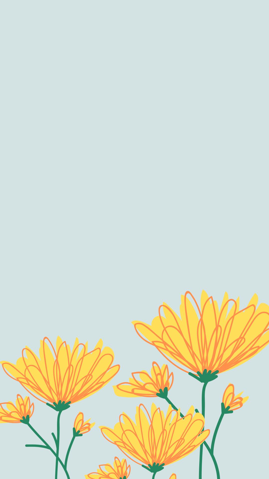 Spring Phone Wallpapers Flower phone wallpaper Phone wallpaper 1080x1920