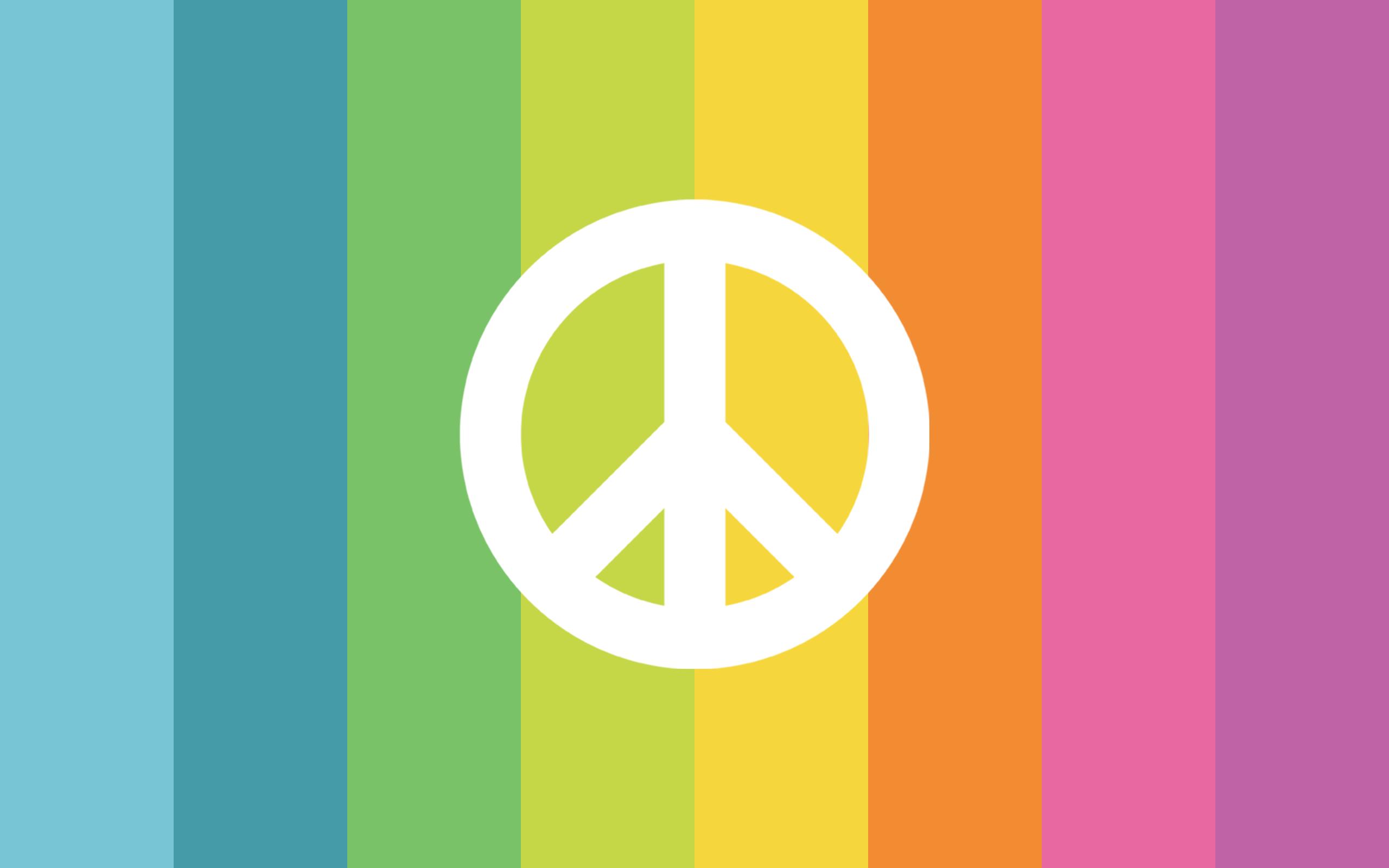 Peace Sign Backgrounds For Desktop 2560x1600