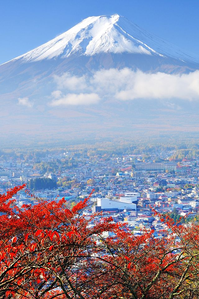 Japan Mount Fuji Wallpaper mtfuji japan travel iphone 640x960