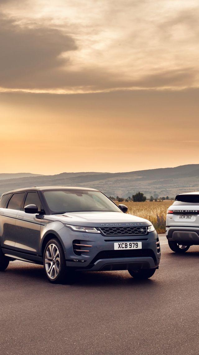 Wallpaper Range Rover Evoque SUV 2019 Cars 4K Cars Bikes 20941 640x1138