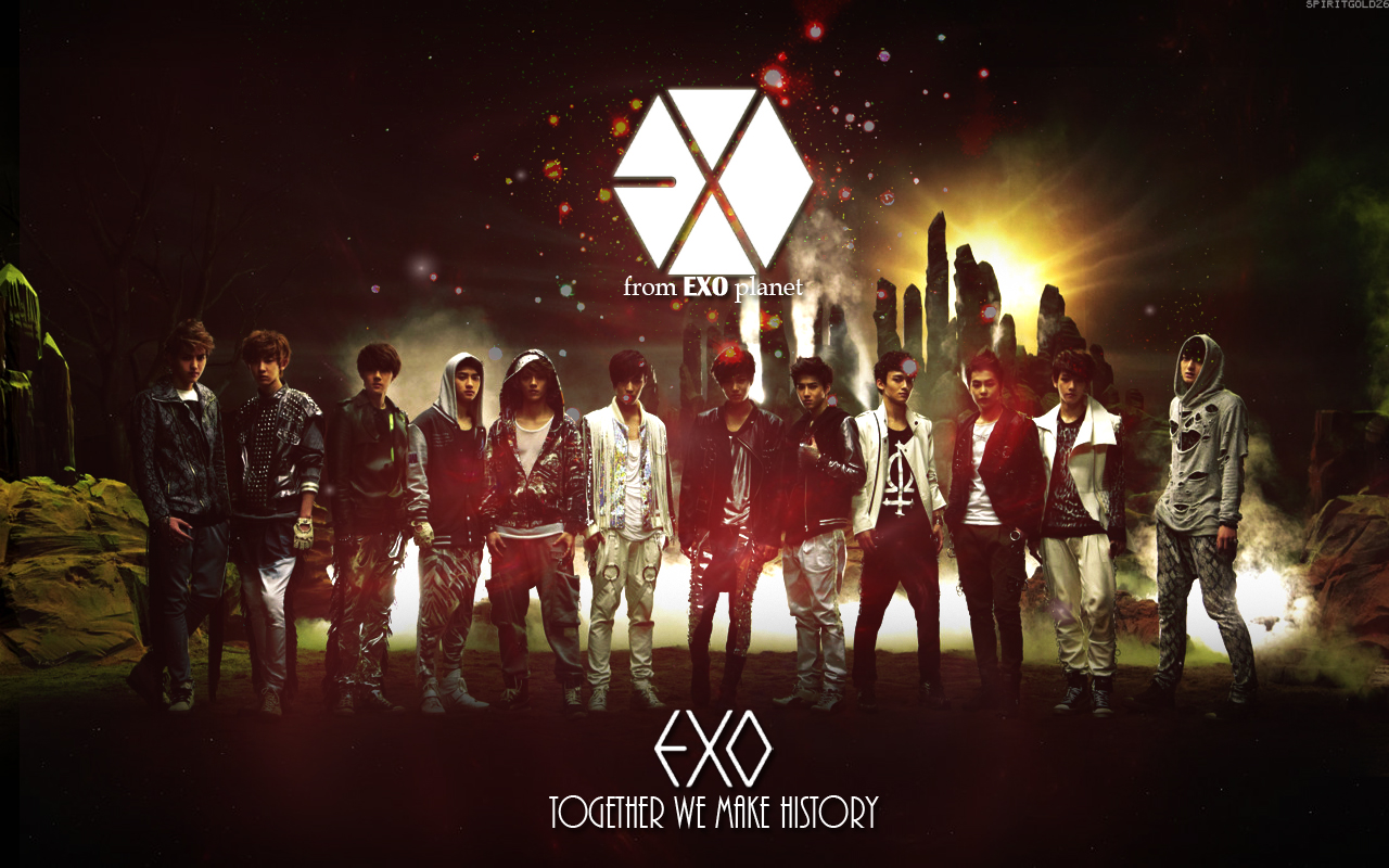 Exo Desktop Wallpaper Wallpapersafari