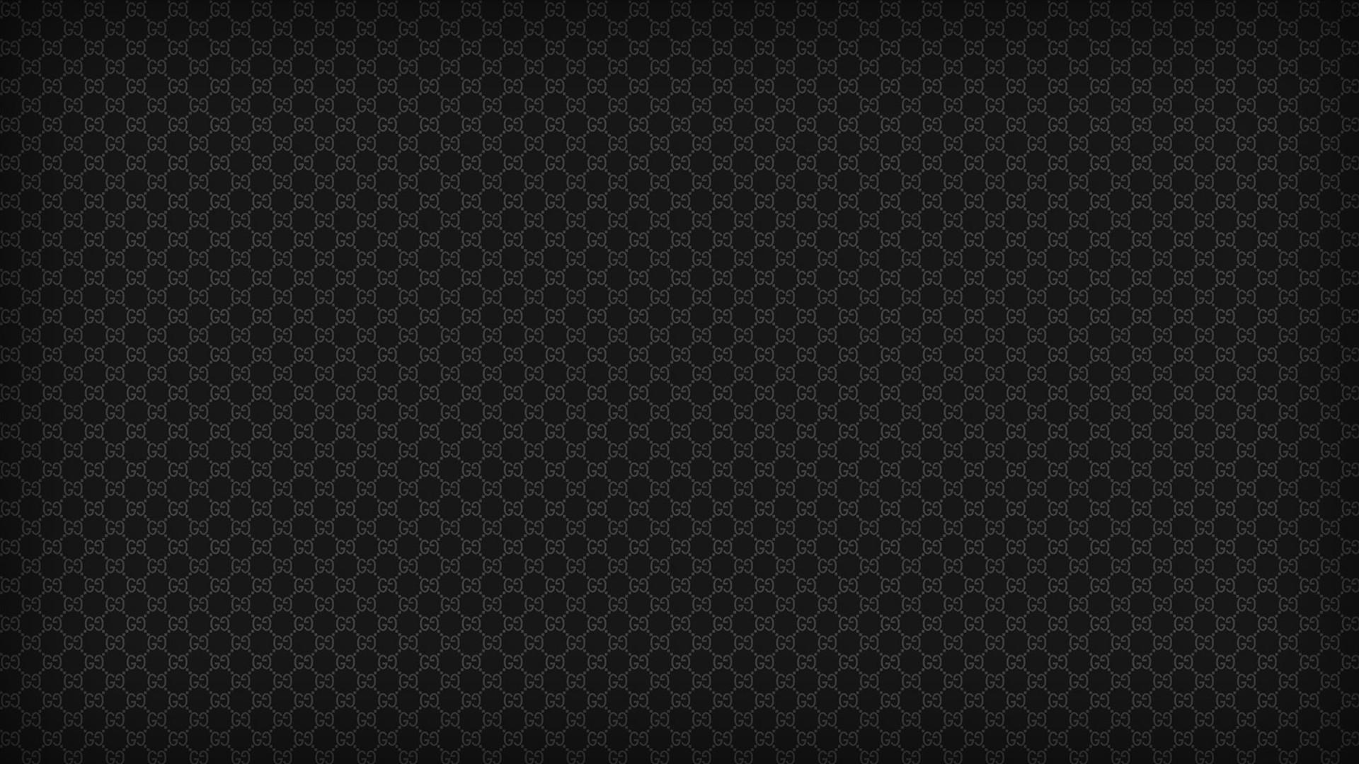 Designer label wallpaper gucci textures black   884029 1920x1080