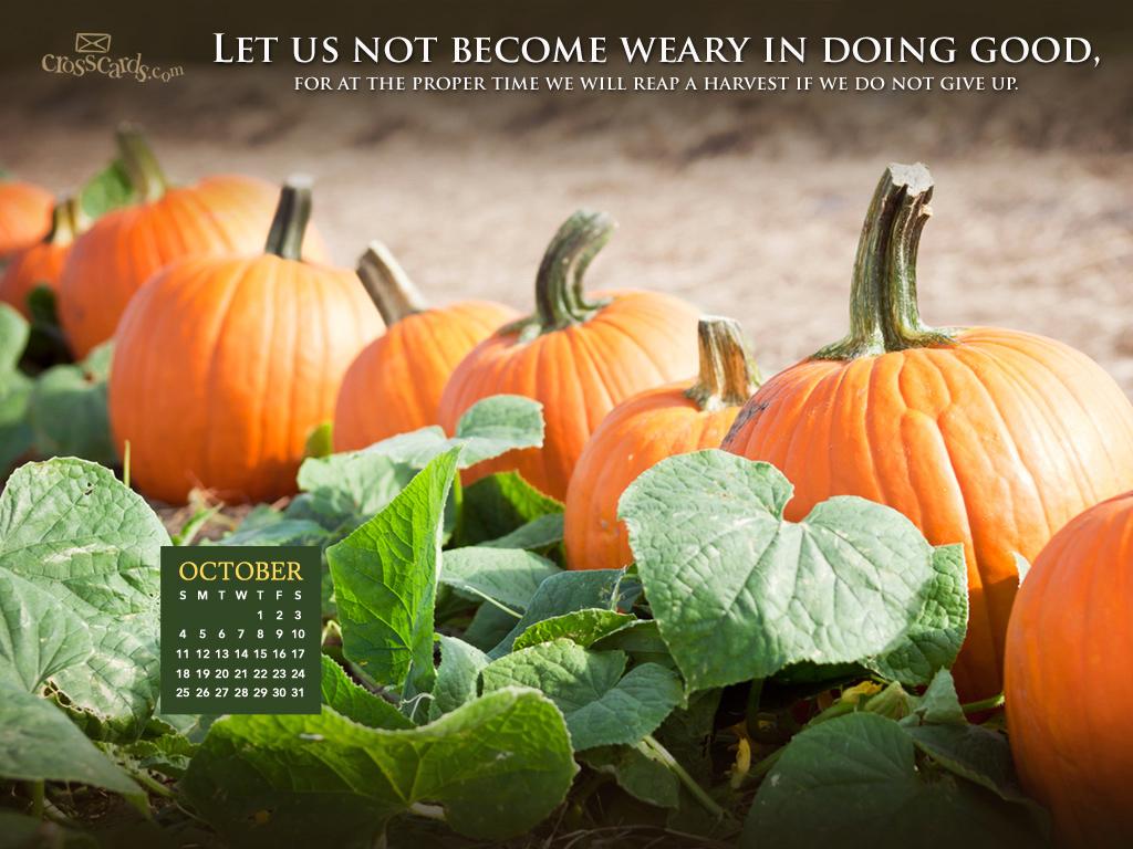 October 2015   Doing Good Desktop Calendar  Monthly Calendars 1024x768