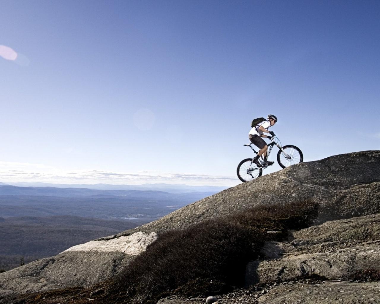 1280x1024 Mountain Bike desktop PC and Mac wallpaper 1280x1024