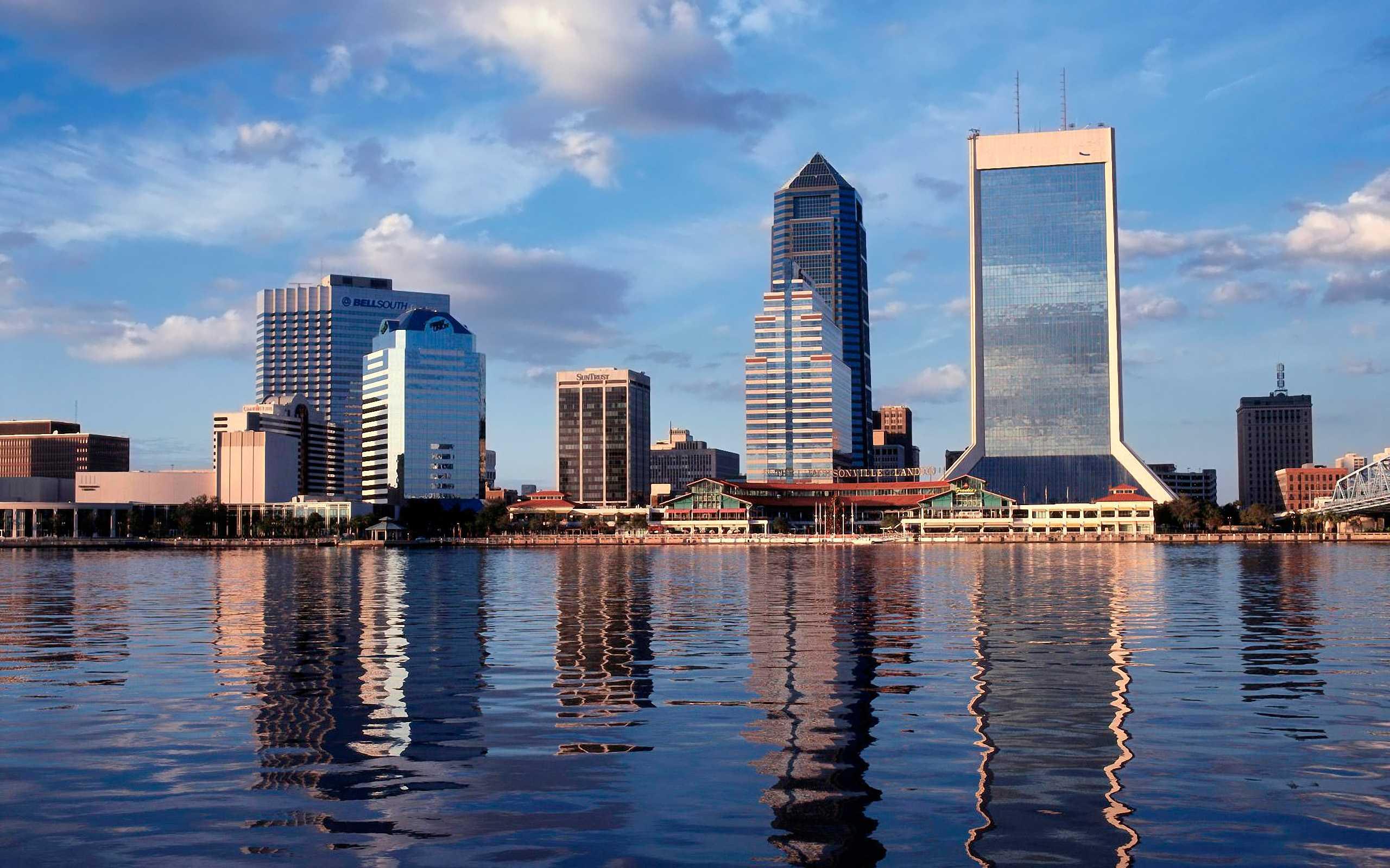 Jacksonville FL daytime skyline Explore Jacksonville FL 2560x1600
