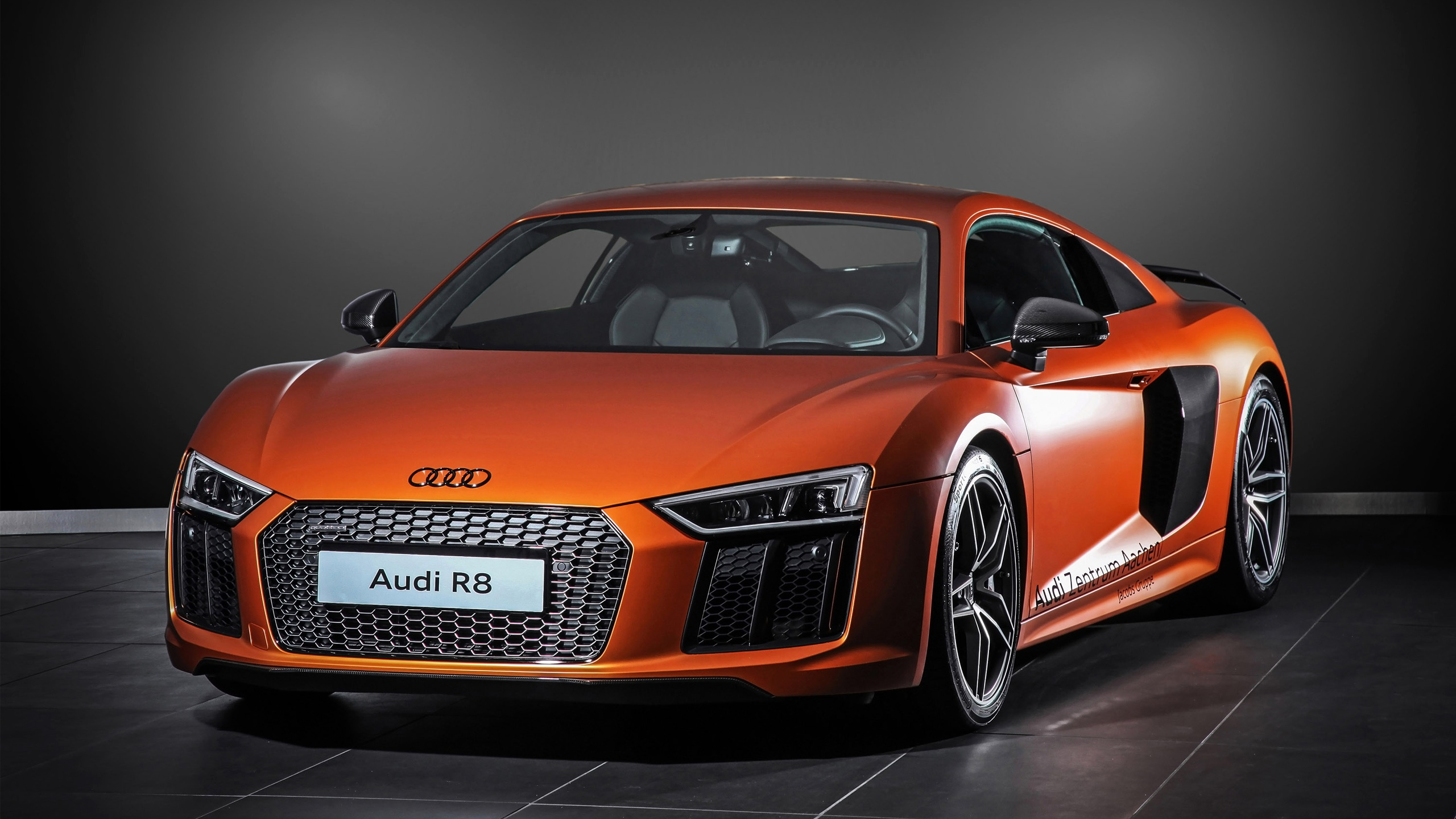 2015 HplusB Design Audi R8 V10 Wallpaper HD Car Wallpapers 2560x1440