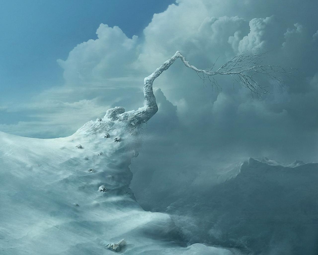 Fantasy Frozen Tree   1280x1024   54 1280x1024