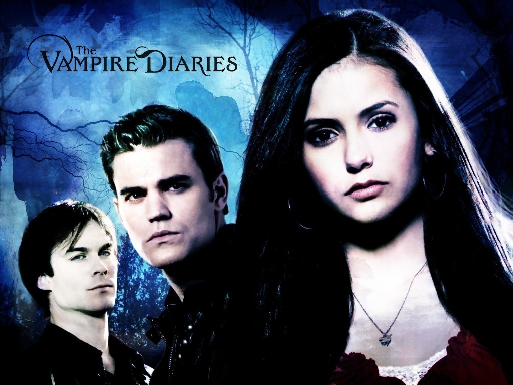 The Vampire Diaries images Stefan Elena and Damon wallpaper photos 1024x768