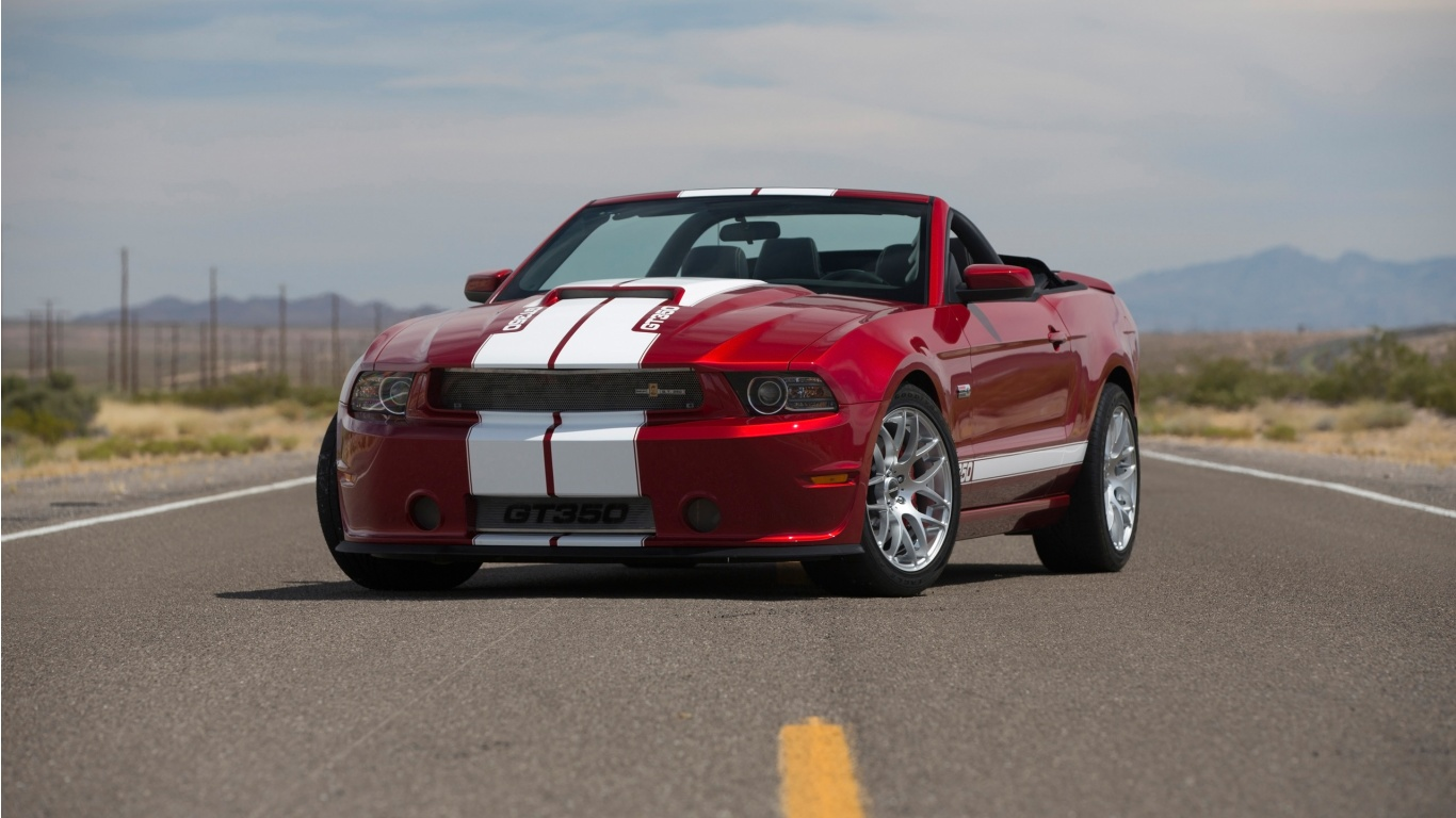 2013 Ford Mustang Shelby GT350 Wallpaper HD Car Wallpapers 1366x768