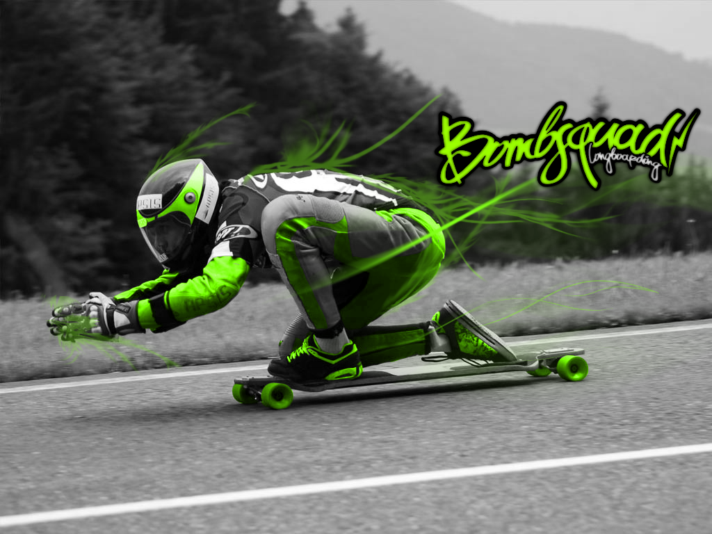 Longboarding Wallpapers 1024x768