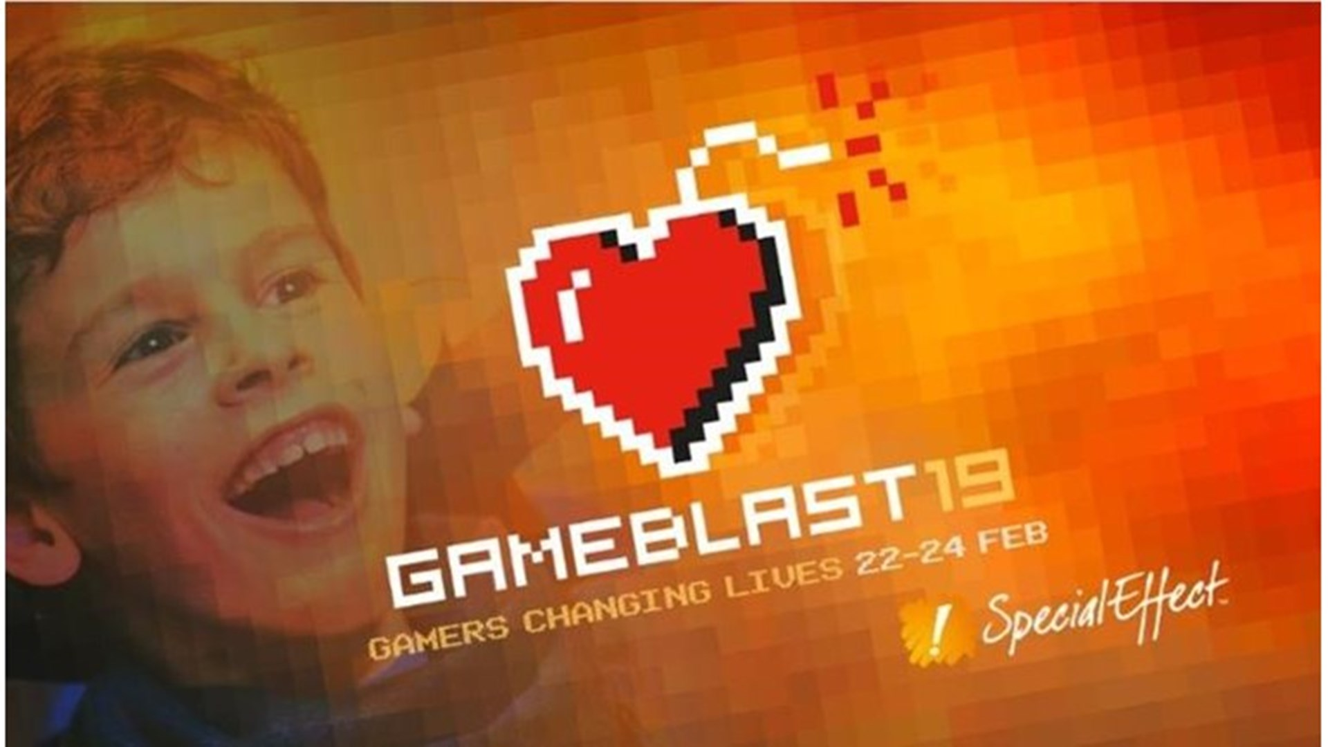 Blackbaud Charleston is fundraising for SpecialEffect 1920x1080
