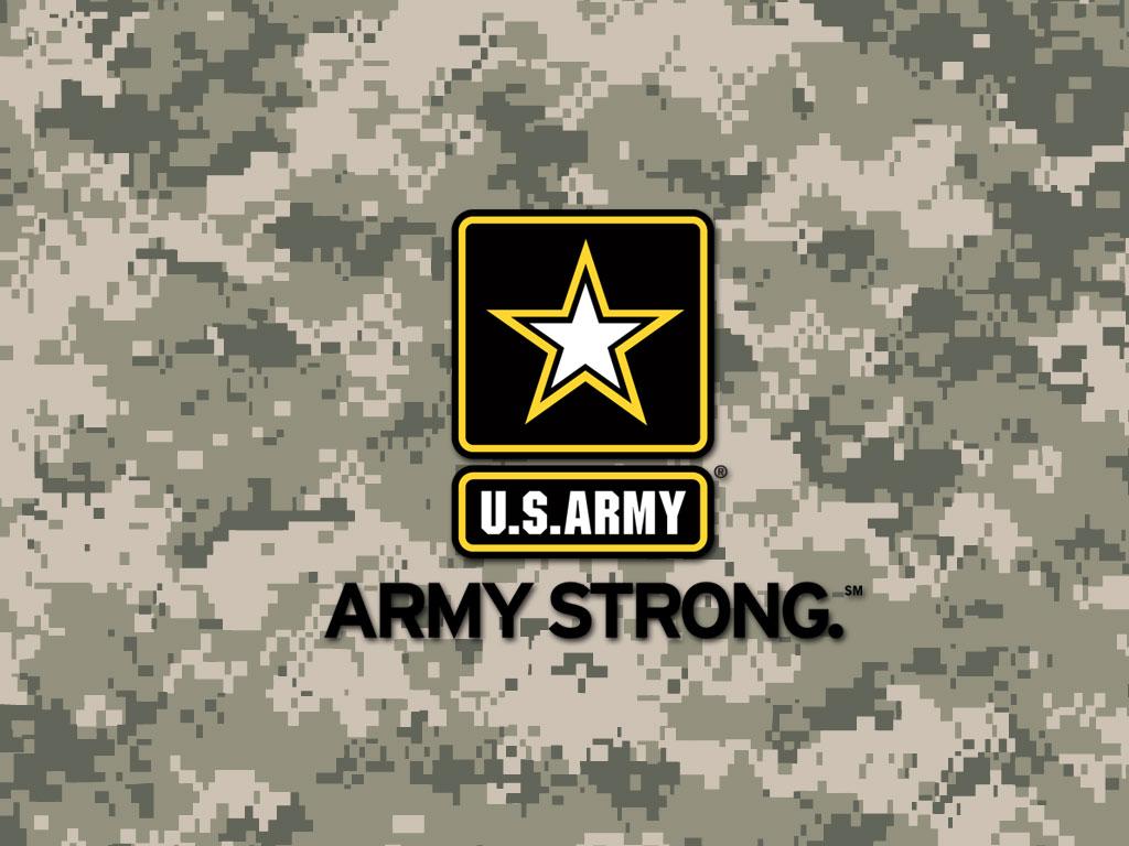 Army Strong Digital Camo Wallpaper 1024x768
