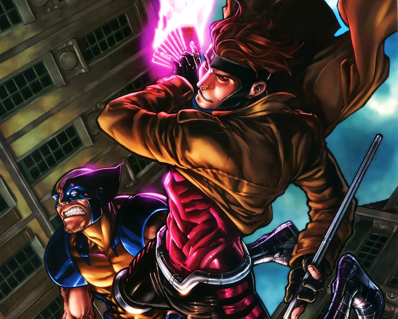Gambit Wallpaper and Background Image 1280x1024 ID214413 1280x1024