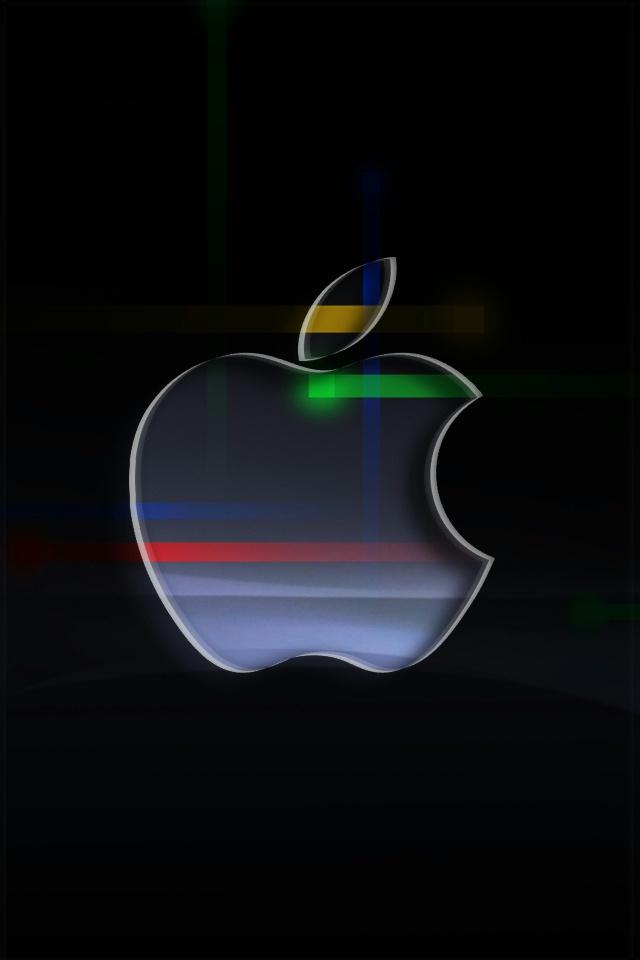 Apple Nexus Lock Screen iPhone 4 Wallpaper 640x960