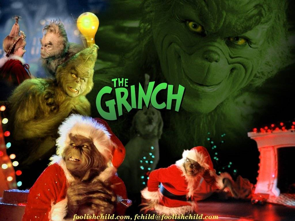 The Grinch   How The Grinch Stole Christmas Wallpaper 30805566 1024x768