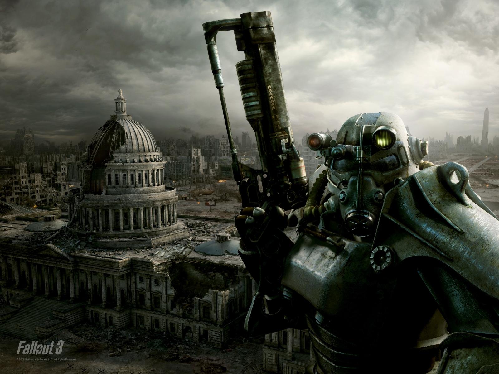 Fallout 3 HD Desktop Wallpaper 1600x1200