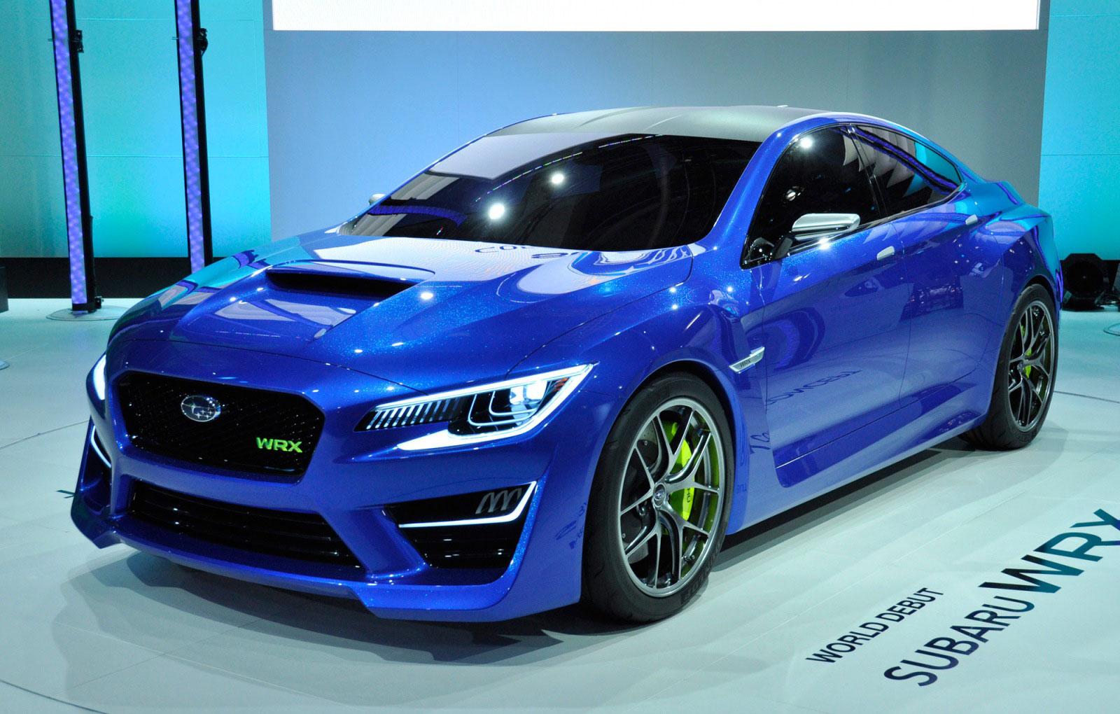 Subaru 2016 Wrx Sti Concept Design Hd Wallpaper
