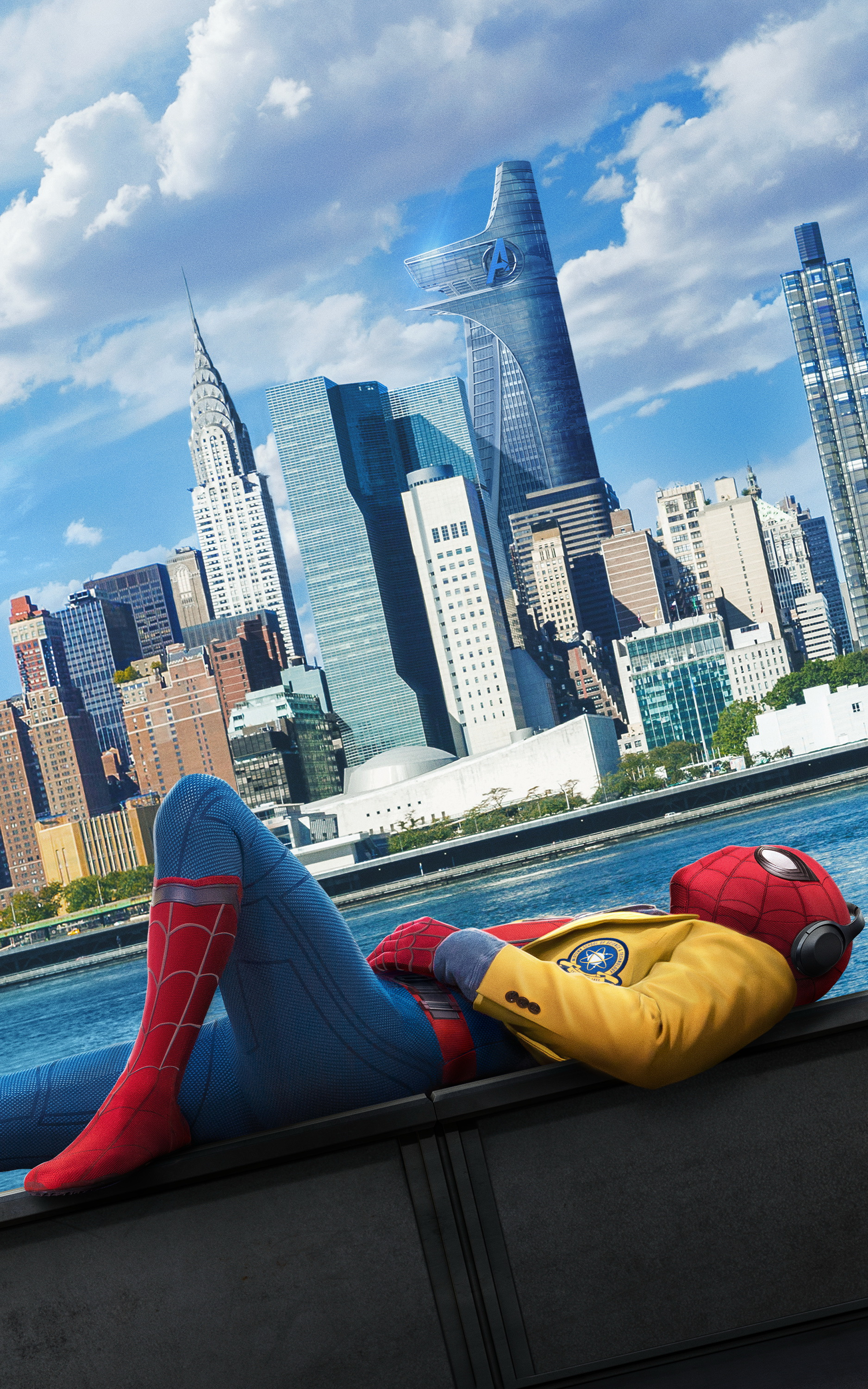 Mobile Wallpapers 143 Movie of the Week Spider Man Homecoming 7 1875x3000