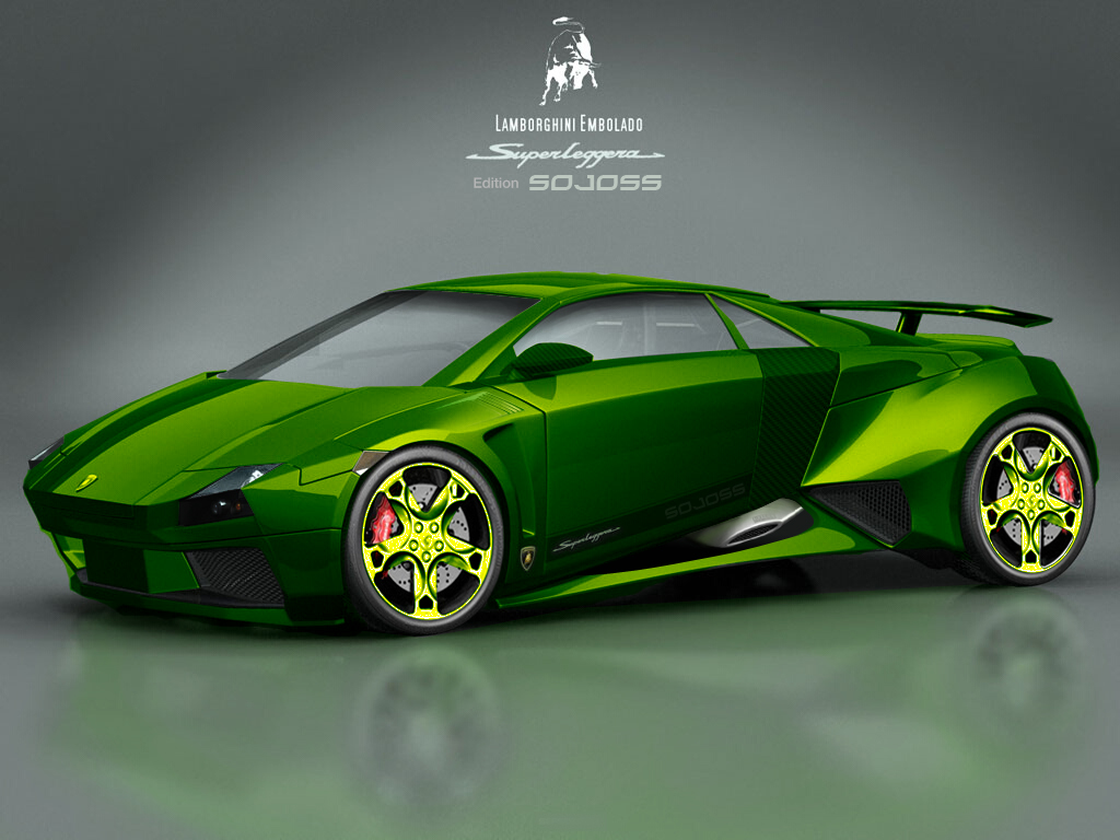 Download Green Lamborghini Embolado Wallpaper Wallpapers 1024x768