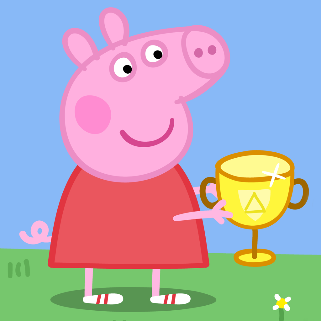 Watch Peppa Pig Wallpapers PC Android iPhone and iPad Wallpapers 1024x1024