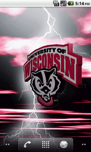 Wisconsin Badgers Live Wallpaper   Amazon Mobile Analytics and App 300x500