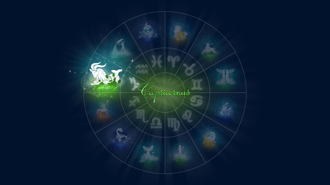 Capricorn Horoscope Wallpapers HD Pictures One HD Wallpaper Pictures 1366x768