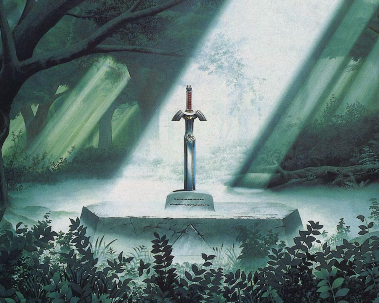Master Sword Wallpaper Images amp Pictures   Becuo 1280x1024