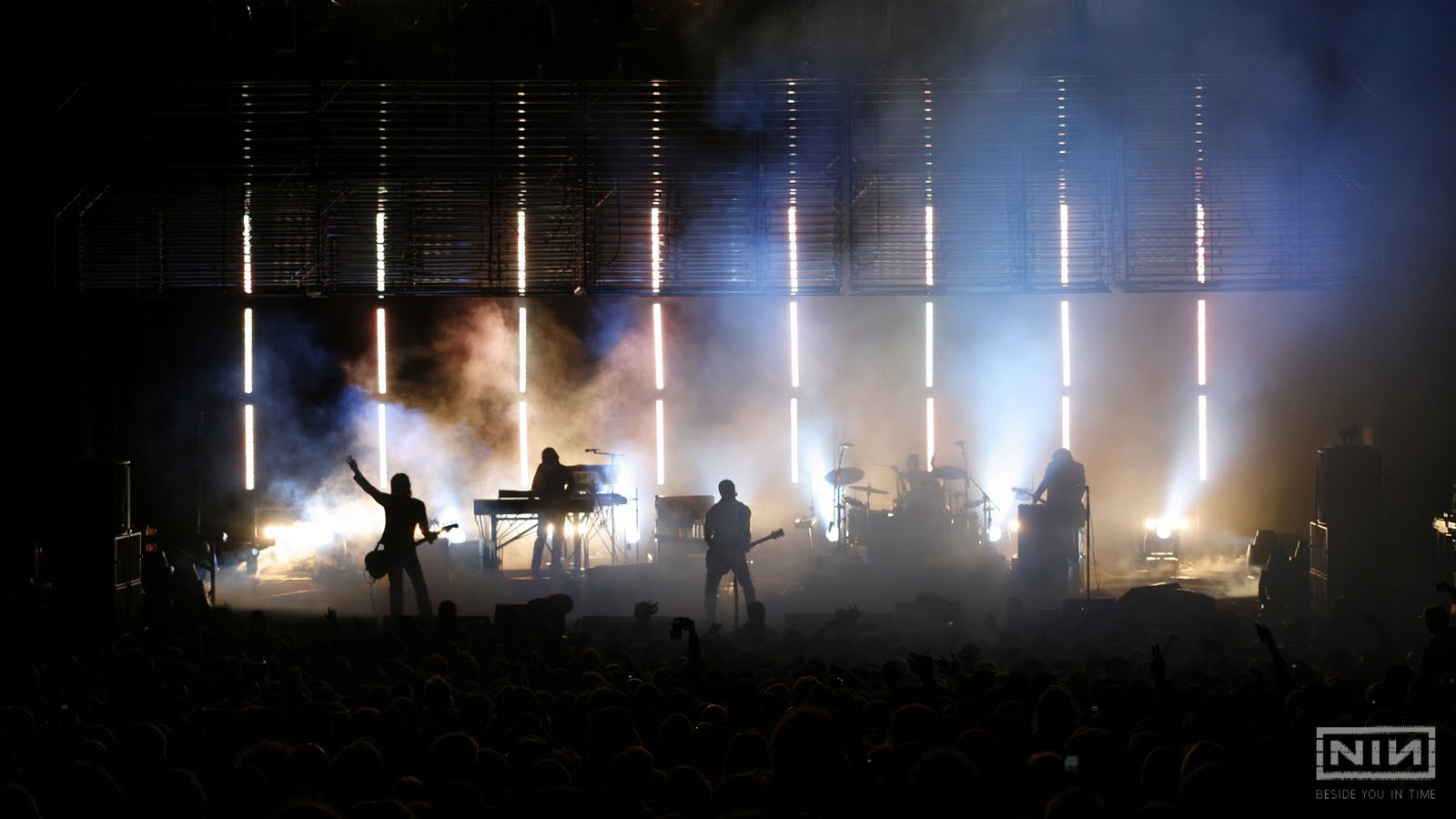 nine inch nails Nine inch nails, commonly abbreviated as nin (stylized as niи), is an american industrial rock band founded in 1988 by trent reznor in cleveland, ohio.