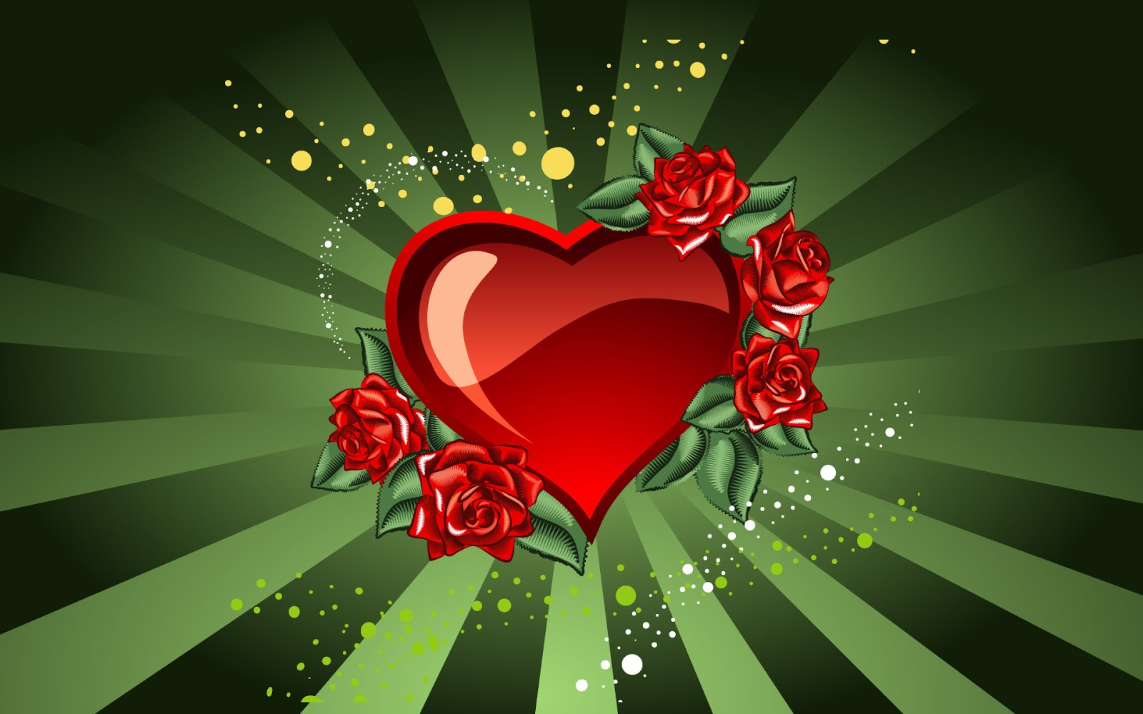 Valentine Backgrounds Wallpapers Love Red 1600x1000