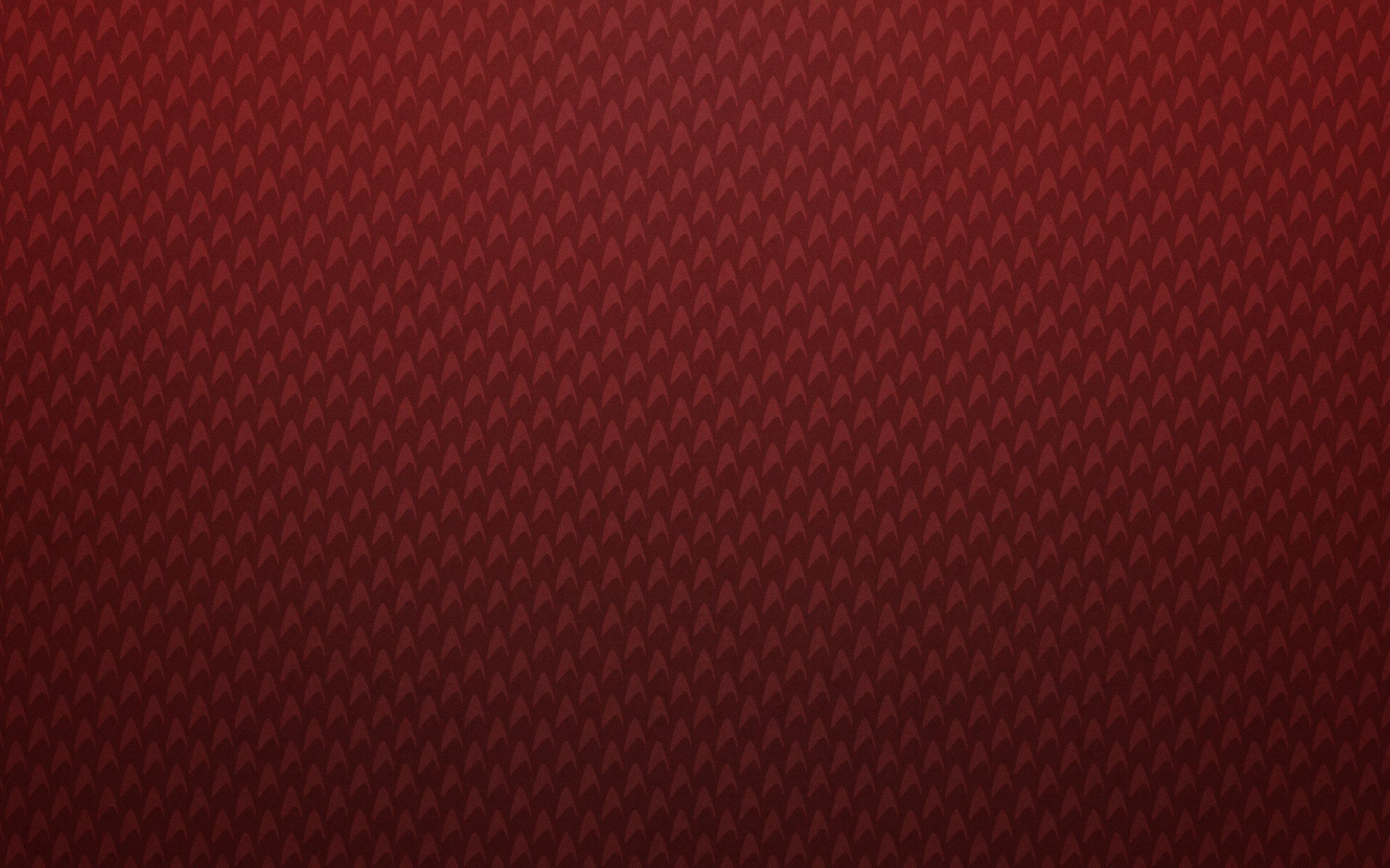 Red patterns textures backgrounds triangle star trek logos wallpaper 2560x1600
