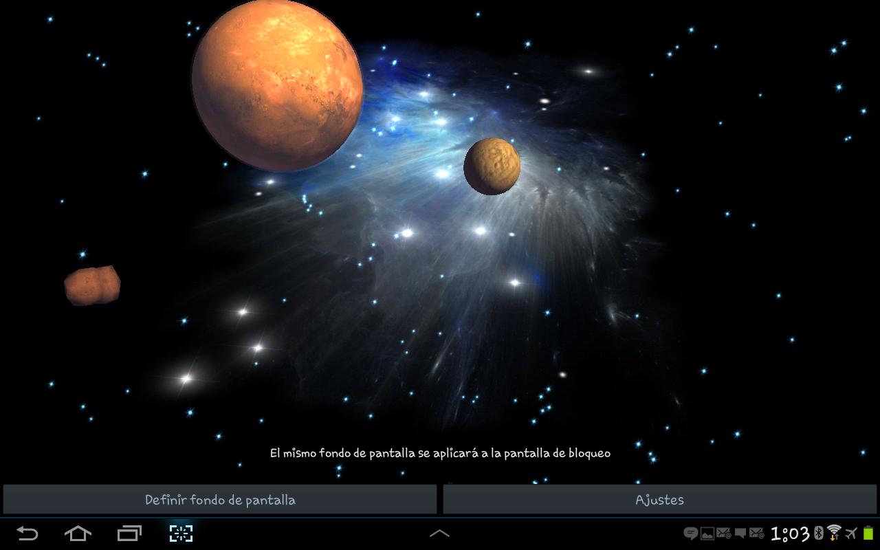 3D Galaxy Live Wallpaper Full   Android Apps on Google Play 1280x800