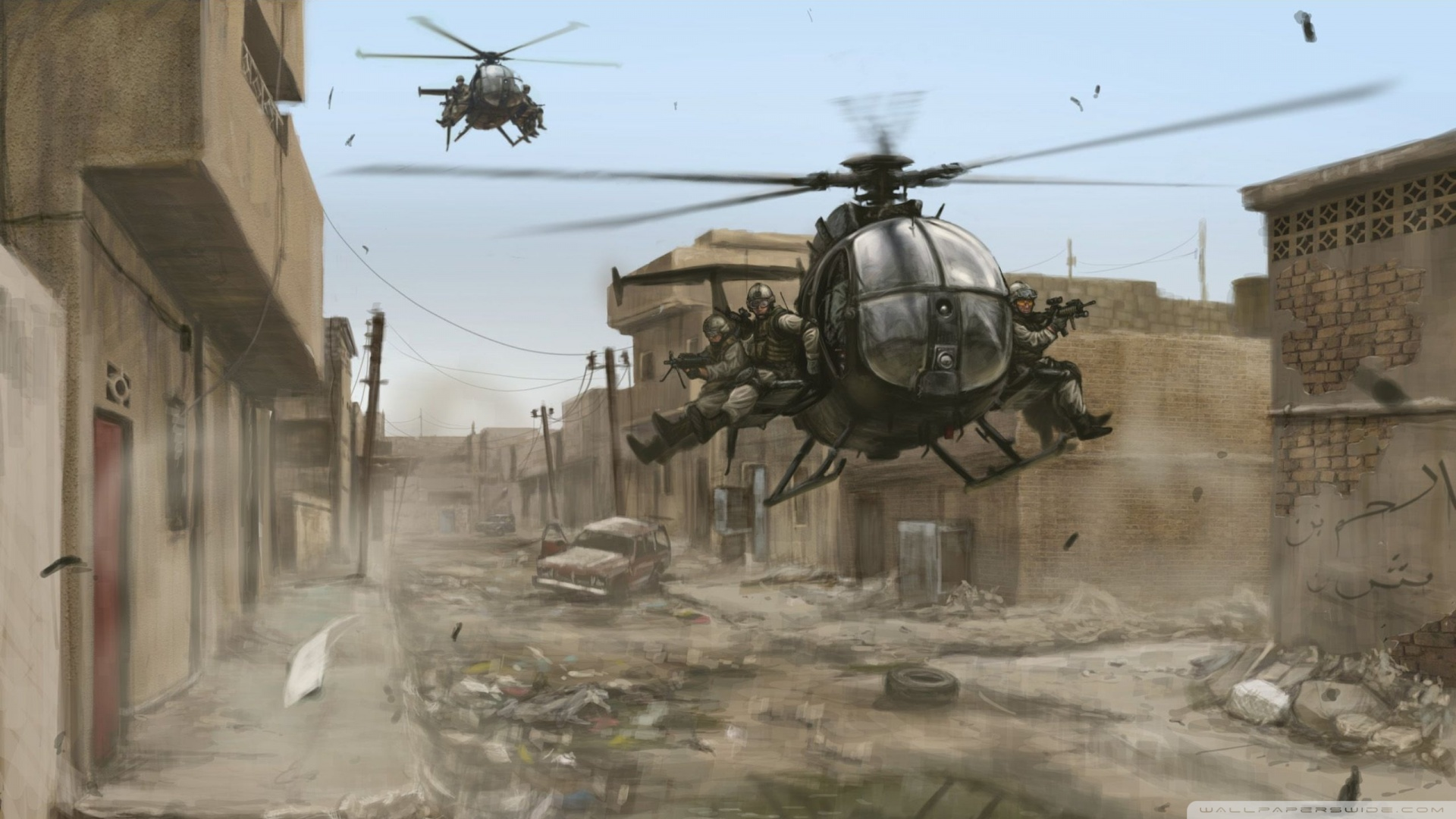 Free Download Download Military Helicopter 2 Wallpaper