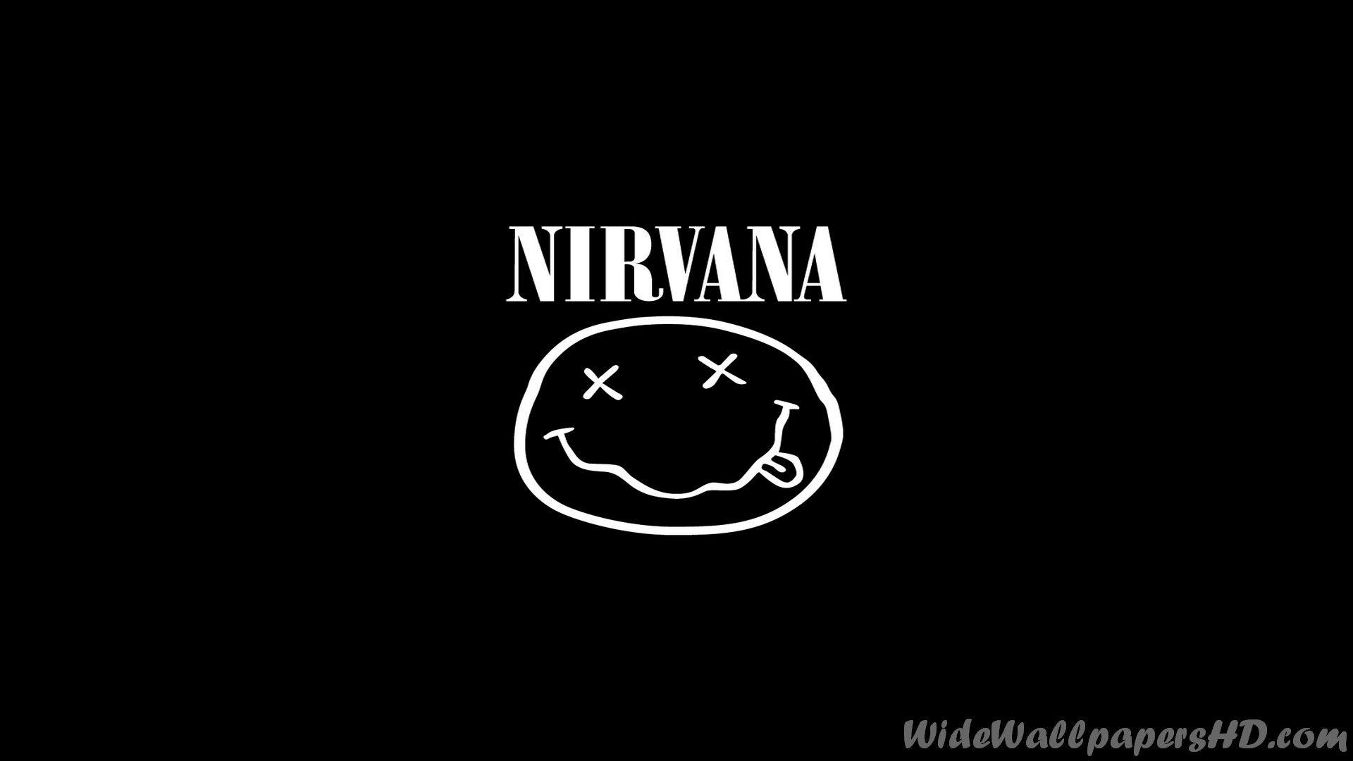 Nirvana Logo Wallpapers 1920x1080