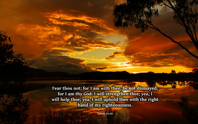 fear thou not for i am with thee be not dismayed for i am thy god i 650x406