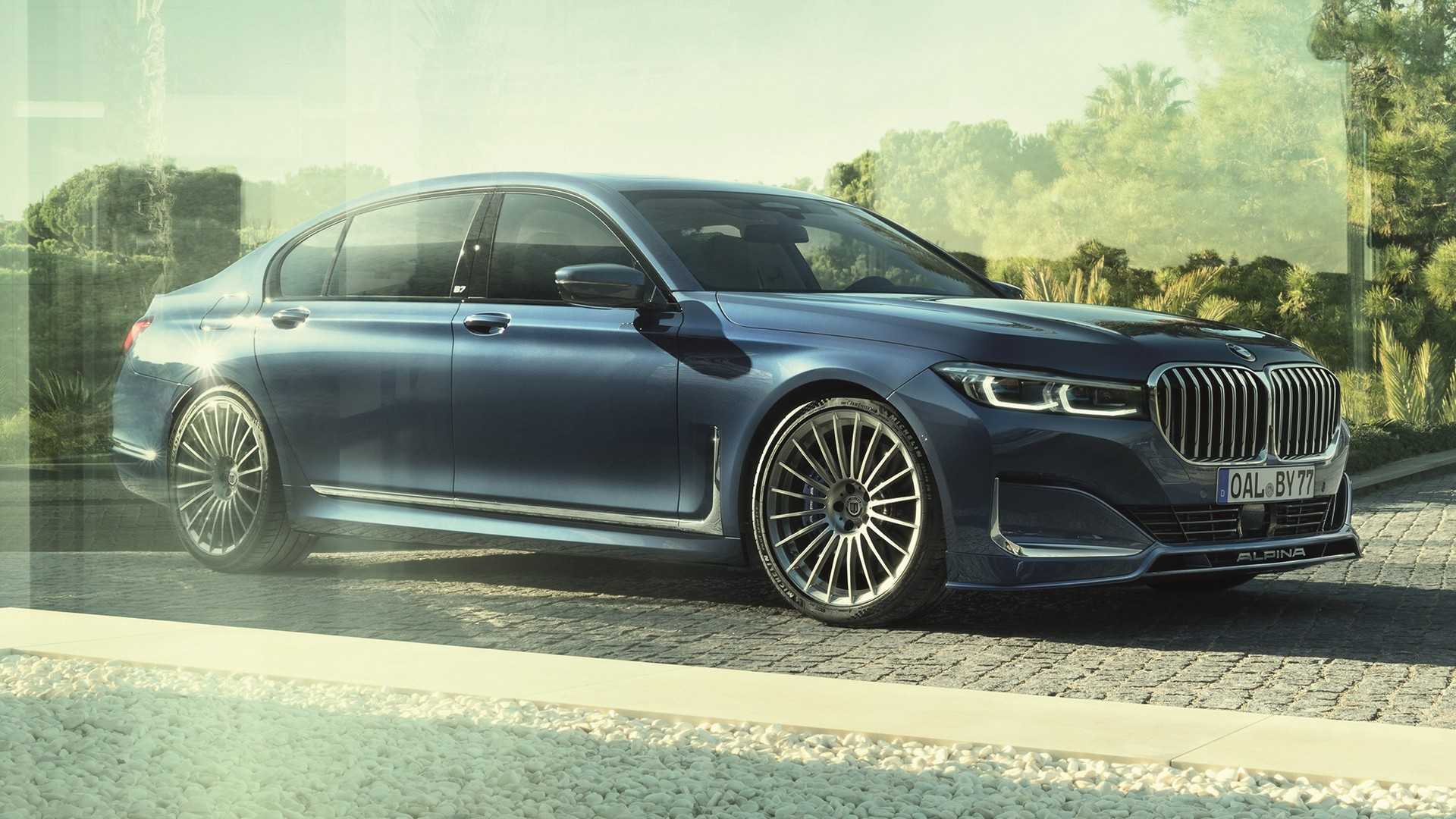 2020 Alpina B7 Oozes Class Even With The Gargantuan Grille 1920x1080