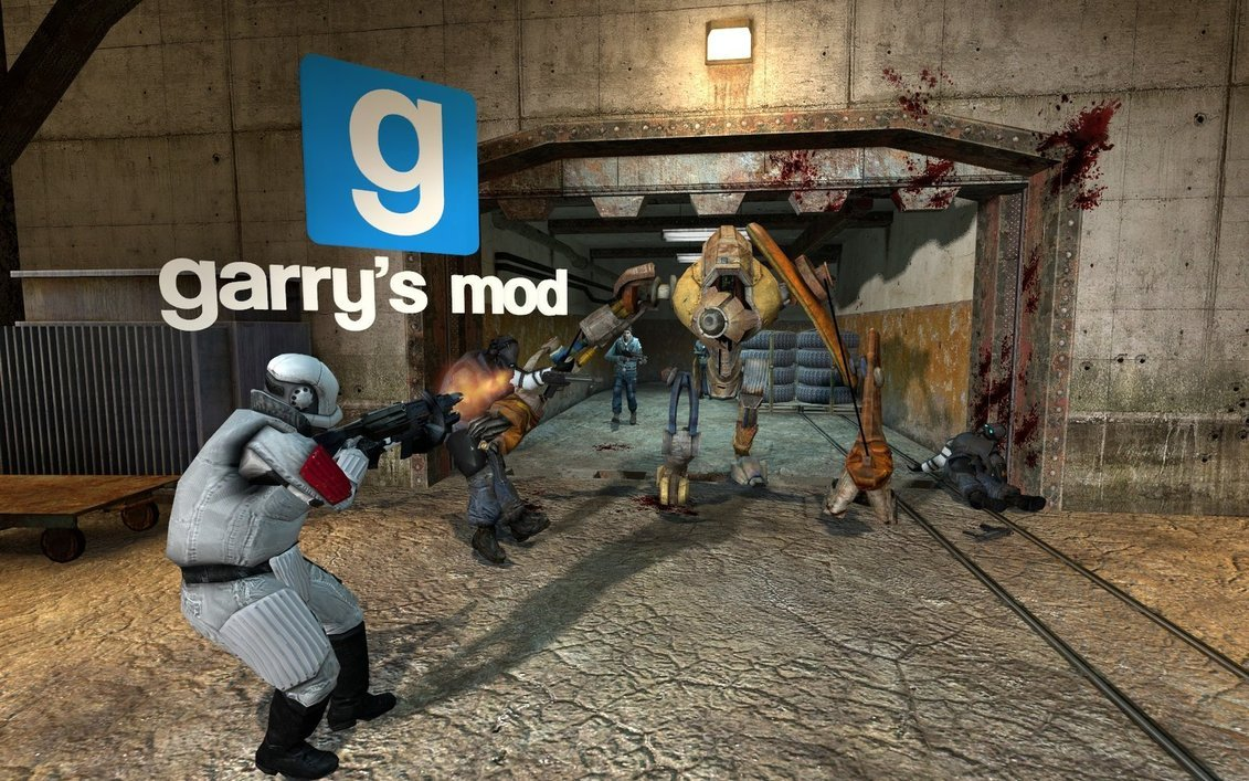 Hey This is my Garrys mod section post anything you want about gmod 1131x707