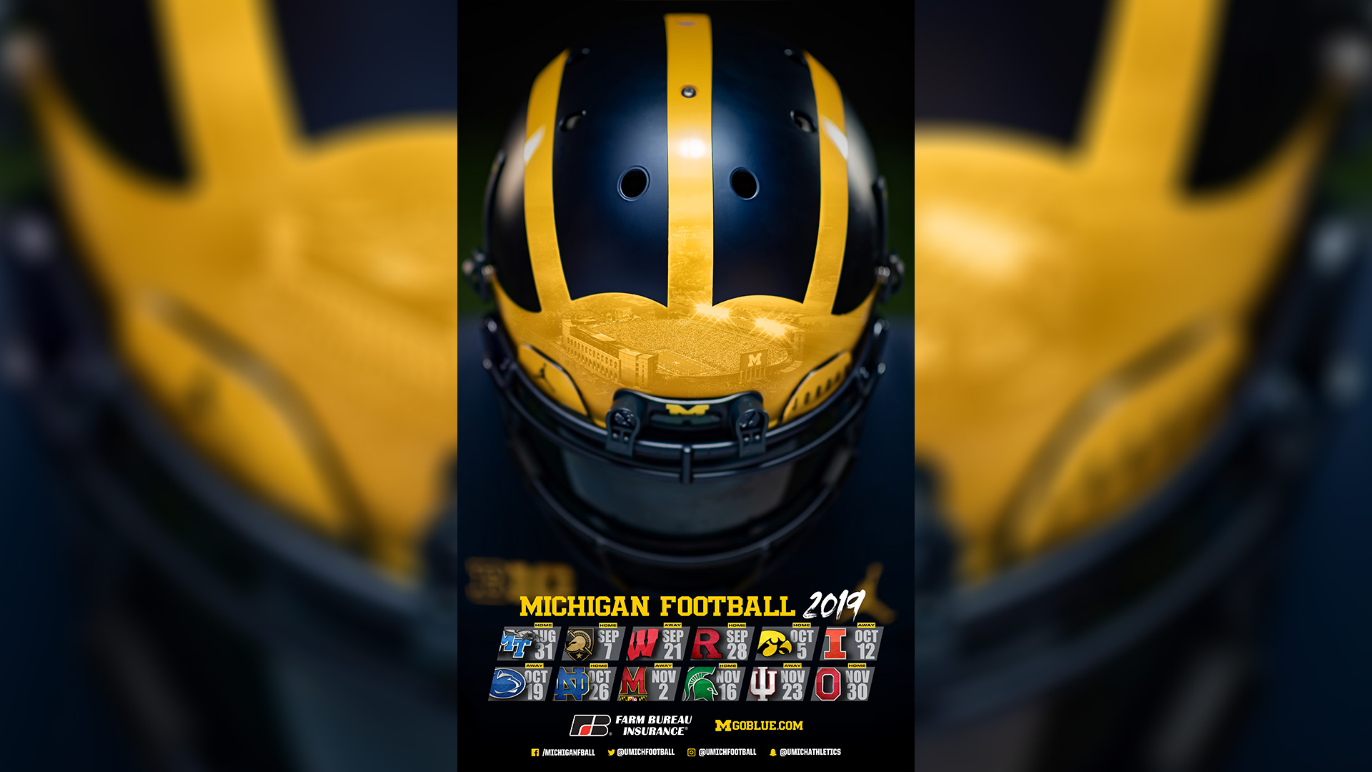 Michigan Athletics Sport Posters   University of Michigan Athletics 1920x1080