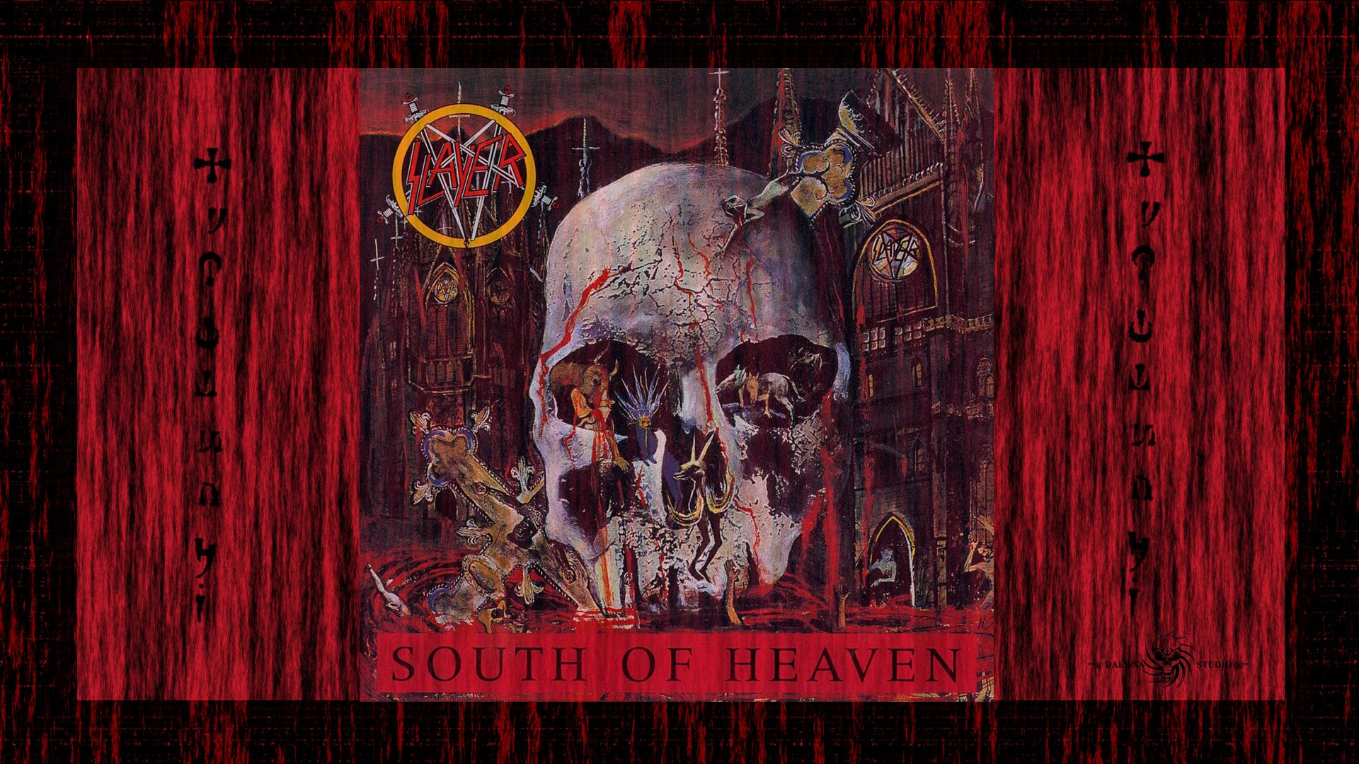 Slayer wallpaper 1920x1080 wallpapersafari - Death metal wallpaper ...