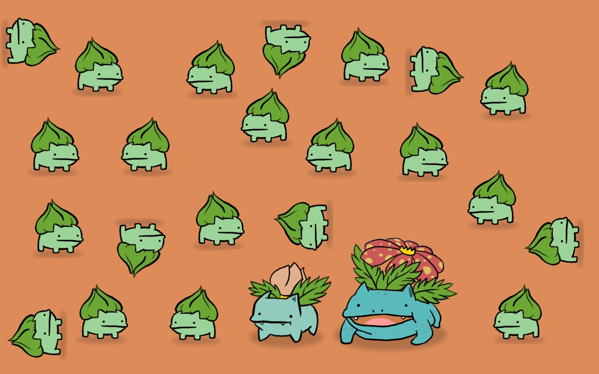 Bulbasaur Background Wallpapers 40726   Baltana 1920x1200