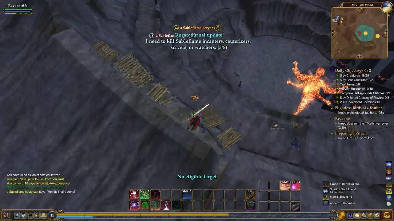 Everquest 2 Warlock gameplay 1280x720