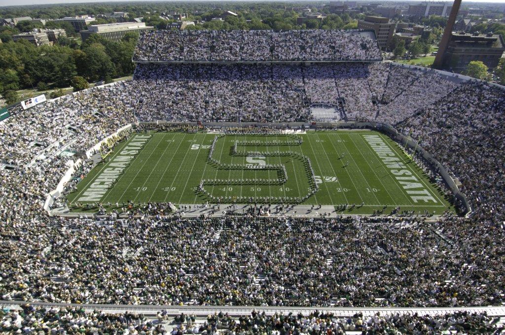 Michigan State Football Stadium 1024x680