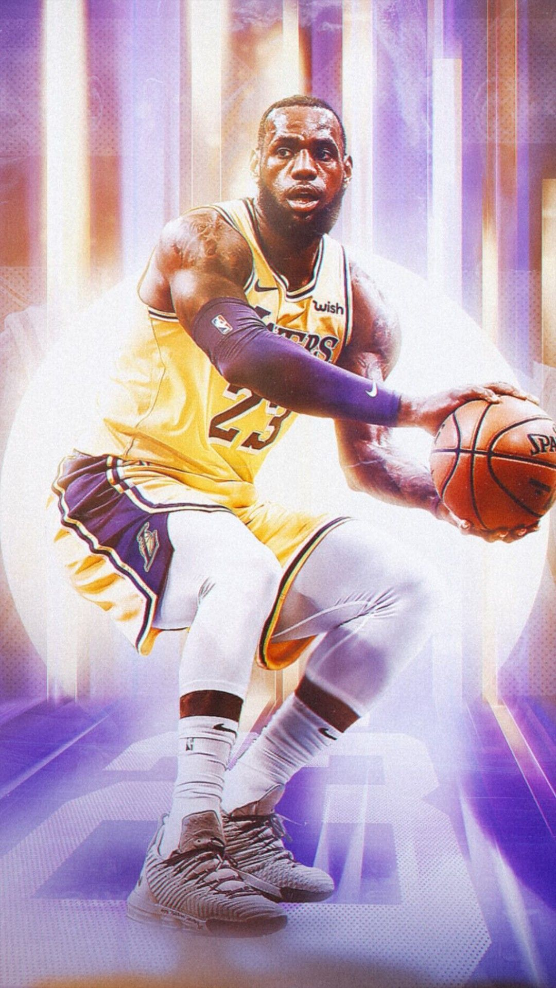 Lakers Anthony Davis Wallpaper Download in 2020 Lebron james 1080x1920