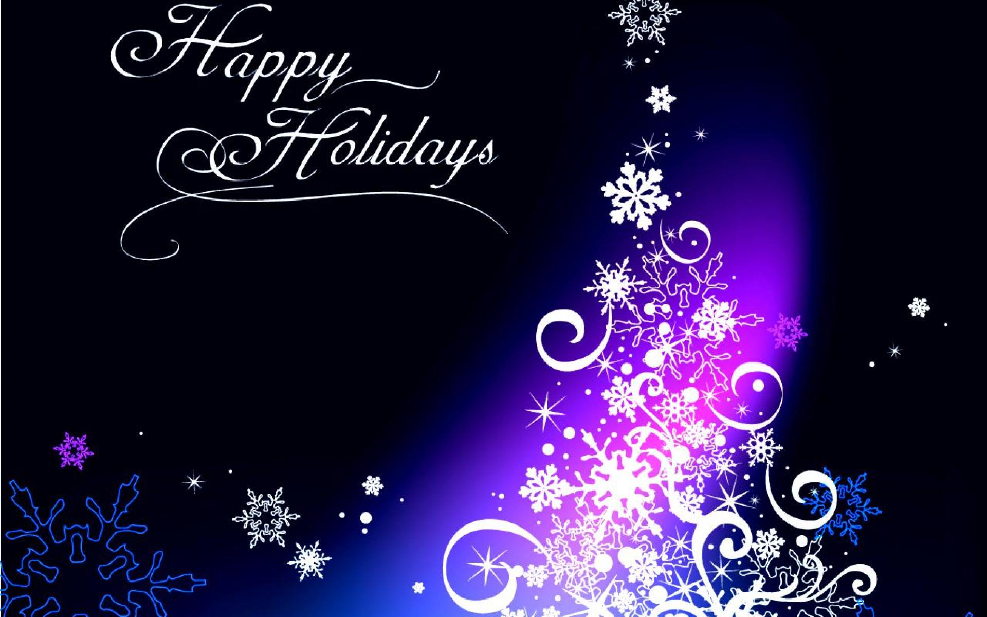 Happy Holiday Wallpapers HD 1920x1200